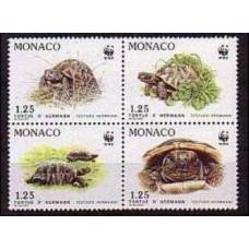 1991 Monaco Mi.2046-49VB WWF / Fauna 5.00 €
