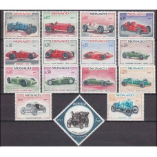 1967 Monaco Mi.848-62 Automobiles 13,00 €