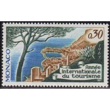 1967 Monaco Mi.863 Landscape 0,30 €