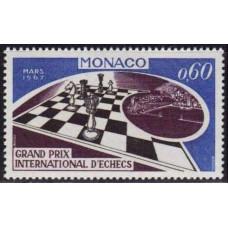 1967 Monaco Mi.864 Chess 0,70 €