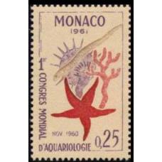 1961 Monaco Mi.667 Sea fauna 0,30 €