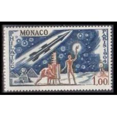 1964 Monaco Mi.772 Rockets 0,70 €