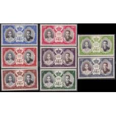 1956 Monaco Mi.561-568** 10,00 €
