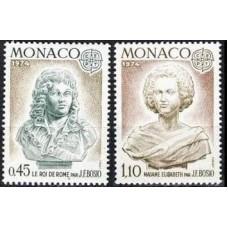 1974 Monaco Mi.1114-1115 Europa 3,00