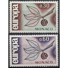 1965 Monaco Mi.810-811 Europa 3,00 €