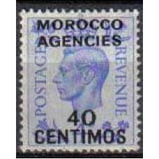 1940 Agencies Morocco Michel 145** George VI 35.00 €