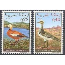 1970 Morocco Mi.672-673 Nature protection 3,50 €