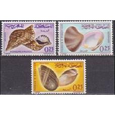1965 Morocco Mi.550-552 Sea fauna 4,50