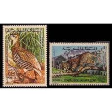 1974 Morocco Mi.789-790 Moroccan animals