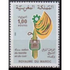 1980 Morocco Mi.927 Industry