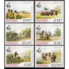 1981 Mozambique Mi.816-821 Fauna 8,50 €