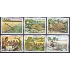 1983 Mozambique Mi.955-960 Sea fauna 5,00 €