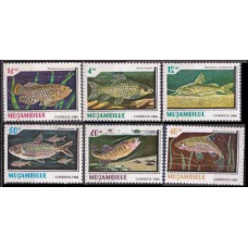 1984 Mozambique Mi.991-996 Sea fauna 12,00 €