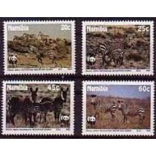 1991 Namibia Mi.702-705 Fauna 7.50 €
