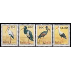 1994 Namibia Mi.776-779 Birds of Etosha - Storks