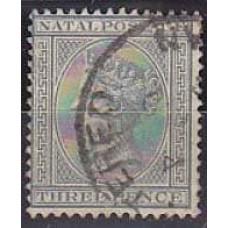 1889 Natal Mi.47 used Victoria 22.00 €