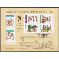 1982 Nauru Michel 241-246/B5b Scaut 2.40 €