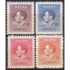 1937 Nauru Michel 33-36 2.50 €