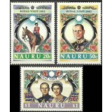 1982 Nauru Mi.251-253 Elizabet II 2,80 €