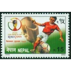 2002 Nepal Michel 745 2002 World championship on football Japan and Korea 1.80 €