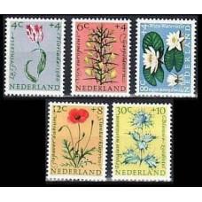 1960 Netherlands Mi.746-750 Flowers 18,00 €