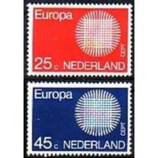 1970 Netherlands Mi.942-943 Europa 1,50 €