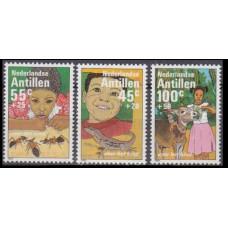 1983 Netherlands Antilles Mi.500-502 Reptiles 5,50 €