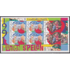 1991 Netherlands Mi.1423,25/B35 Kids Games 5,50 €