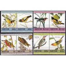 1985 Nevis Mi.268-275Paar Audubon 7.00 €