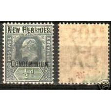 1908 New Hebrides Michel 1** wz 2 Edward VII 180.00 €