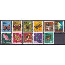 1970 New Zealand Mi.517-527 Butterflies 4,00 €