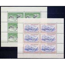 1957 New Zealand Michel 371yKL-372yKL Sport 35.00 €