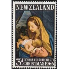1966 New Zealand Mi.453 Painting 0,30