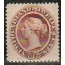 1866 Newfoundland Michel 19y * Victoria 70.00 €