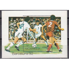 1990 Nicaragua Mi.3000/B191 1992 Olympiad Barselona 5,00 €