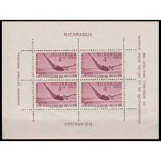1949 Nicaragua Mi.984/B1 Sport 30,00