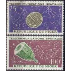 1964 Niger Michel 59-60 Satellite 2.40 €
