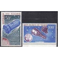 1966 Niger Michel 137-138 Woschod-1 3.00 €
