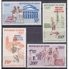 1972 Niger Mi.348-351 1972 Olympiad Munhen 7,50 €