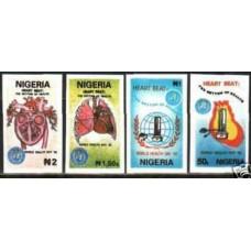 1992 Nigeria Michel 584-87 imperf. / MEDICINE rare €