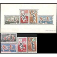 1964 Niger Michel 79-82+79-82/B3 1964 Olympiad Tokio 24.00 €
