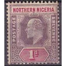 1902 Nord- Nigeria Michel 11* Edward VII