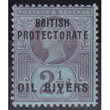 1892 Nigeria - Coast Mi.4 * Victoria 10.00 €