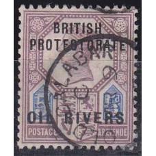 1892 Nigeria - Coast Mi.5 used Victoria 12.00 €