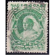 1894 Nigeria - Coast Mi.16 used Victoria 17.00 €