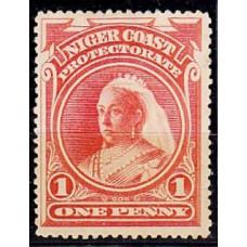 1894 Nigeria - Coast Michel 23* Victoria 19.00 ?