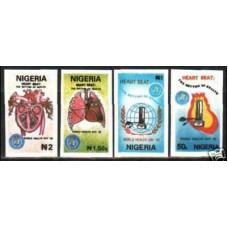 1992 Nigeria Michel 584-87 imperf. / MEDICINE rare
