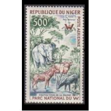 1960 Niger Mi.13 Fauna 25,00