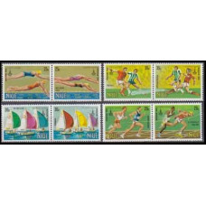 1980 Niue Mi.358-365Paar 1980 Olympic Moscow 3,60 €