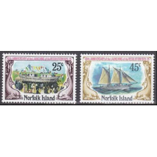 1975 Norfolk Island Mi.175-176 Ships with sails 1,90 €